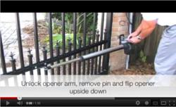 Online gate oepner tutorial video for gatecrafters.com
